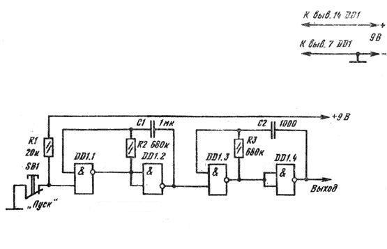 1. Аналог микросхемы Вариант