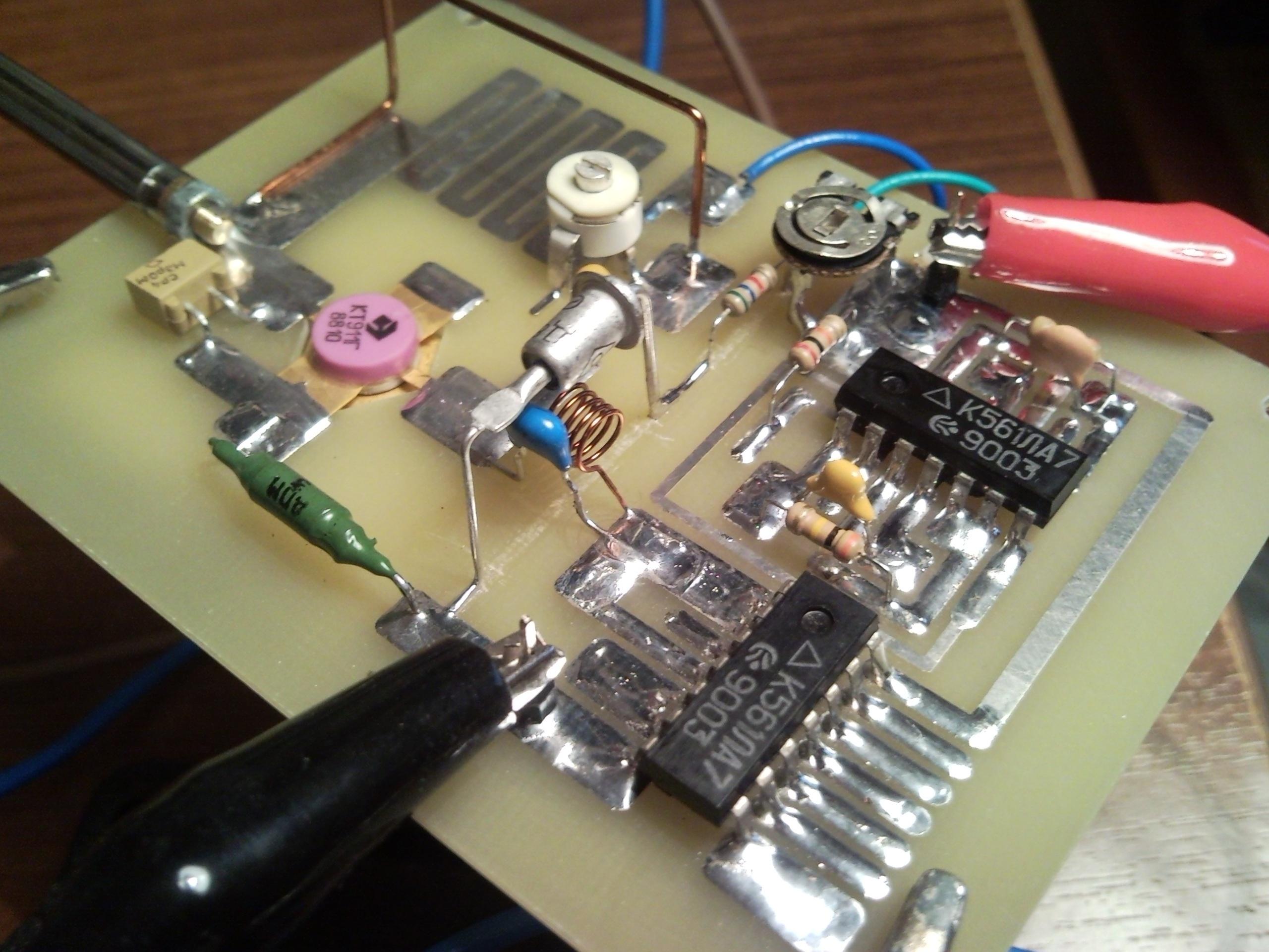 глушилки радио и схемы